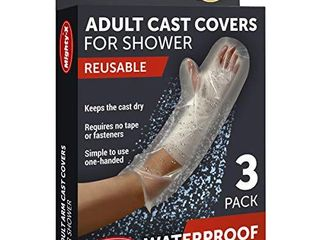 Waterproof Cast Cover Arm   100  Reusable   3 Pack
