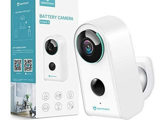 Security Camera Outdoor Indoor Wireless Battery Camera  HeimVision Rechargeable Battery Powered Camera