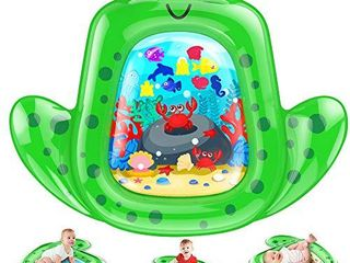 VATOS Tummy Time Baby Water Mat 43A35  X large  For Infants