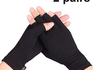 2 Pairs Compression Arthritis Gloves