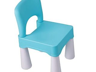 Plastic Kids Chair  Durable and lightweight  9 65  Height Seat  Indoor or Outdoor Use for Ages 2 and Up  Macaron
