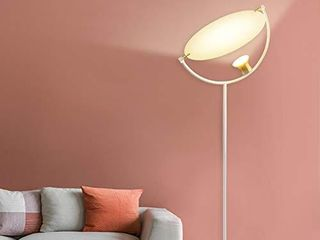 Twinkle Star lED Torchiere Floor lamp  Sky lED Modern Uplight Super Bright Floor lamps  7 5W 550 lumen  Tall Standing Pole light with Foot Pedal Push Switch for living Room  Bed Room  Office
