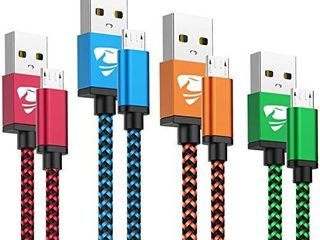 Micro USB Cable Aioneus Fast Android Cord Charger Cable 4Pack  2FT  3FT  5FT  6FT  Cable Charging Cord