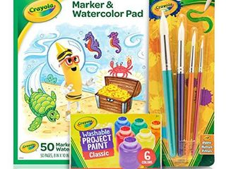 Crayola Kids Paint Set  Craft Supplies  Amazon Exclusive  Ages 3  7