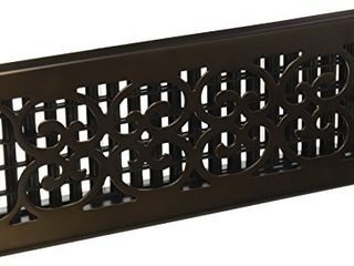 Decor Grates SPH412 RB Floor Register  4x12  Rubbed Bronze Finish
