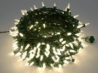 Philips 250 lED Warm White Faceted Mini Christmas light String