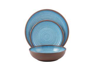 Melange 6 Piece 100  Melamine Bowl Set  Clay Collection  6 SOUP BOWlS ONlY  Retail   34 99