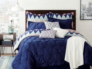 Aztec Chevron 10 Piece King Comforter Set   Retail   98 00