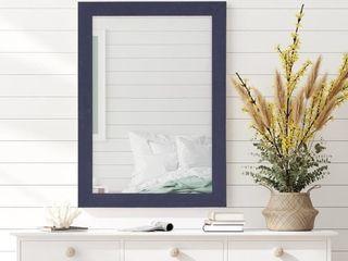 Silver Orchid Deste  Navy Frame Mirror   Retail 111 99