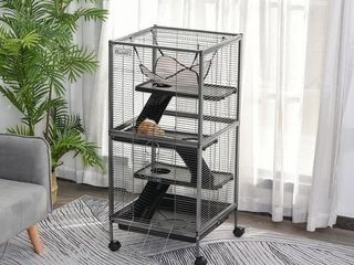 PawHut Rolling Small Animal Cage   Retail 115 49