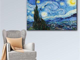 Vincent van Gogh Starry Night Gallery 32 x 48    Retail   107 00