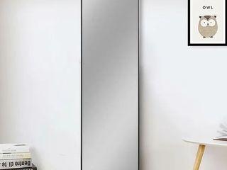 Aluminum Alloy Full length Rectangular Wall Mounted Hanging Door Mirror   Retail 93 49