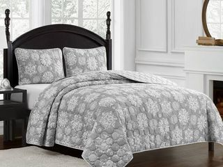 Marquis by Waterford Crystal Snowflake Quilt Set   Retail   65 99
