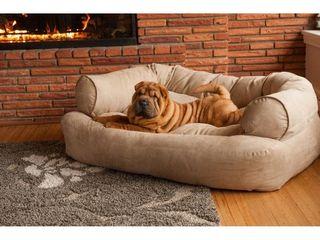 Snoozer Palmer Premium Overstuffed Pet Sofa   Retail 289 95