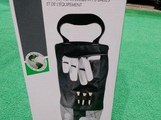 JEF World of Golf Shag Bag Black   Retail   49 99