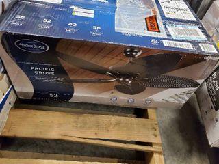 Harbor Breeze Pacific Grove Oil Rubbed Bronze 52a Ceiling Fan
