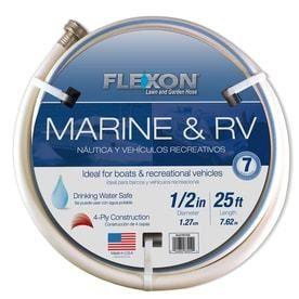 Flexon 1 2 Inch by 25 Foot Boat n Camper Hose FAD1225