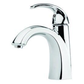 Pfister Selia Polished Chrome 1 Handle Single Hole WaterSense Bathroom Faucet  Drain Included