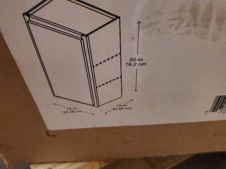 Diamond Now Arcadia 12 in Wall Cabinet IJIJ