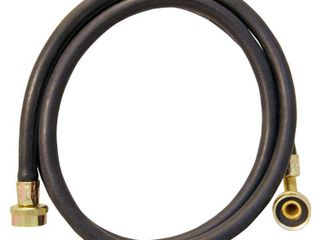 Apollo 6 ft l 3 4 in Hose Thread Inlet x 3 4 in Hose Thread Outlet PVC Washing Machine Fill Hose