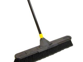 Quickie Soft Sweep Push Broom  24 Inch