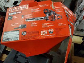 Craftsman 2 Cycle 42 Cc Chain saw