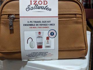 IZOD saltwater 4pc travel size kit