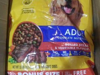 Pedigree Adult Complete Nutrition Grilled Steak Vegetable Flavor Dry Dog Food