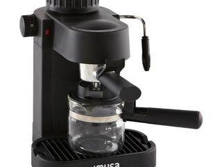 IMUSA Espresso   Cappuccino Maker Black   4 Cup