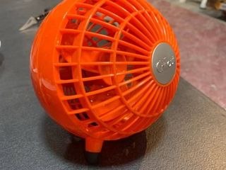 Chillout Desk Fan Red  Portable Fans