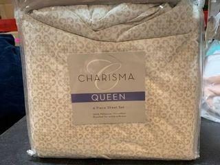 Charisma Queen 6pc Sheet Set