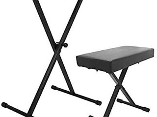 On Stage Keyboard Stand   Bench Pack  KPK6500