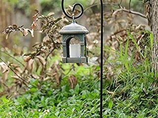 BEAU JARDIN 6 Pack Shepherd Hook 37 Inch 2 5 Inch Hummingbird Bird Feeder Pole Shepards Garden Outdoor Hanging Plants Basket Hanger