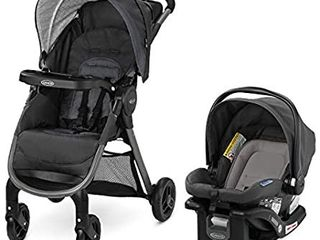 Graco FastAction SE Travel System   Includes Quick Folding Stroller and SnugRide 35 lite Infant Car Seat  Redmond  Amazon Exclusive