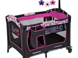 Baby Trend Nursery Center Playard  Floral Garden