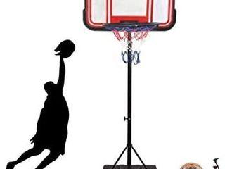 Portable Basketball Hoop   Goal Basketball System Basketball Equipment Height Adjustable