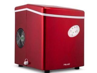 NewAir 28lb Portable Ice Maker   Red AI 100