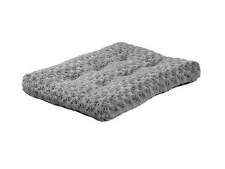 Midwest Quiet Time Pet Bed Deluxe Gray Ombre Swirl 23 Inches by 18 Inches