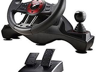Flashfire 4 In 1 Force Racing Wheel Set Black