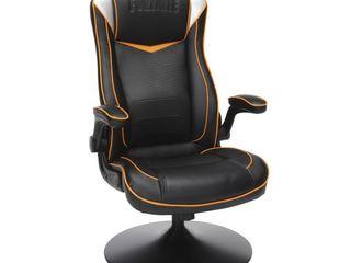 Console Gaming Chair Black Orange White   Fortnite