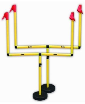 Franklin Sports Youth Football Goal Post Set a Kidsa Football Goal Post with Mini Football a Fun Football Goal for All Ages a Easy Assembly a Adjustable Height a Weighted Base