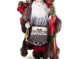16 inch Christmas Santa Claus dAccor  great for table center piece and under tree decoration  16  Tall  4 styles to choose from
