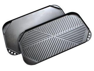 Ecolution Kitchen Extras Double Burner Reversible Grill Griddle