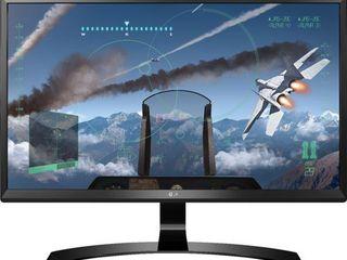 lG 24UD58 B 24  Class 4K UHD IPS 3840x2160 HDMI DisplayPort lED Monitor