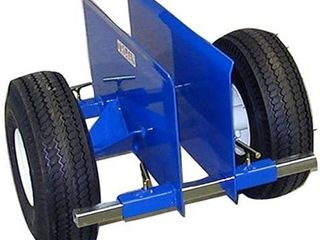 Trojan DC 9 Dolly Cartin  2 Wheeled Clamping Cart Unit with 9 Inch Clamping Capacity