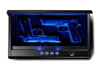 SentrySafe Pistol Safe Quick Access Electronic Keypad Gun Safe   Two Pistol Capacity with lED Interior lights