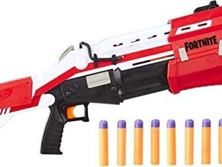 Nerf Fortnite TS 1 Blaster  ACTUAl COlOR IS BlUE AND ONlY HAS 22 DARTS