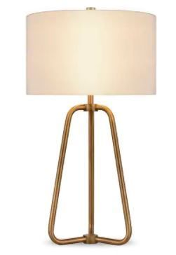 Bryan Table lamp In Gold Antique Brass