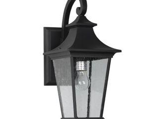 1 light Outdoor Wall light   Black Finish  Retail 127 49