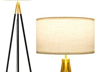 Black and Gold Tripod Floor lamp  Retail 161 49